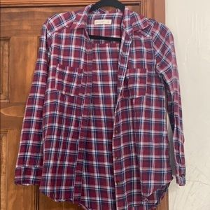 Abercrombie kids girls flannel